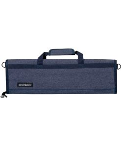 8 Pocket Blue Denim Padded Knife Roll by Messermeister Cases & Storage