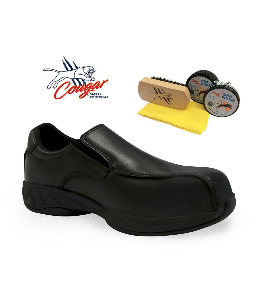93062ef69171 Mascot Safety Shoes by Cougar + FREE Polishing Kit – chef.com.au