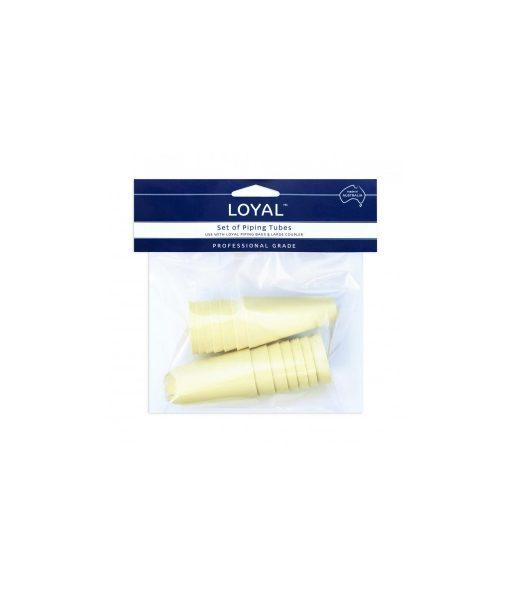 Piping Nozzle Set Of 14 – Plain & Star by Loyal Piping Bags & Nozzles