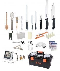 25 Piece Patisserie Club Chef Premium Starter Kit – by Club Chef Apprentice