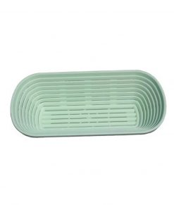 Bread Proofing Basket- 750gms- 26x14cm- Long- Plastic Bakeware