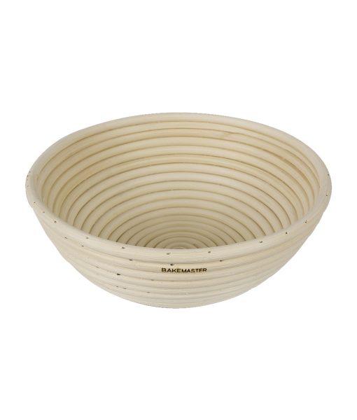 Bread Proofing Basket – 22 x 8.5cm – Round – Rattan – BakeMaster Bakeware
