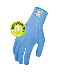 Cut Resistant Globe – Food Grade BLUE 13 – Ambidextrous – Single Glove Only Barware, Wine & FOH